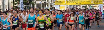"Carrera ""Renault Street Run"" en Albacete."