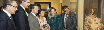 El presidente de Castilla-La Mancha, Emiliano García-Page, inaugura la exposición 'A la mesa. Bodegones en el Arte'. Foto: JCCM.