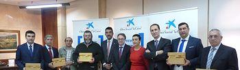 Galván asiste a la entrega de los Premios Incorpora. Foto: JCCM.