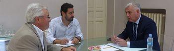 Reunión de José Luis Vega con secretario general COAG CLM