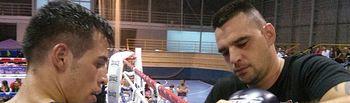 Jordi Martínez suma y sigue: el boxeador albaceteño venció en Benejúza.