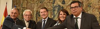 Firma de pacto institucional y social con la Mesa por la Recuperación de Talavera