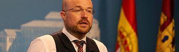 Alejandro Ruiz, presidente del Grupo Parlamentario Cs.