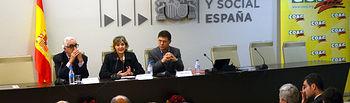 García Tejerina jornada COAG cadena alimentaria. Foto: Ministerio de Agricultura, Alimentación y Medio Ambiente