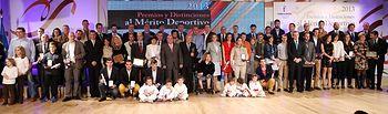 Cospedal en la entrega de Premios al Mérito Deportivo. Foto: JCCM.