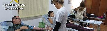 La Guardia Civil de Albacete colabora en una campaña solidaria de donación de sangre a nivel nacional