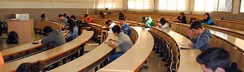 Instantánea de la prueba local en el Campus de Albacete