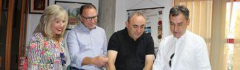 El subdelegado del Gobierno y el director general del SEPE visitan las obras que se realizan en el Centro Dotacional Integrado