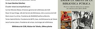 """""""Desde la arena de la biblioteca pública"""", de Juan Sánchez Sánchez-."""