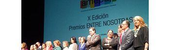El presidente de la Diputación, Francisco Núñez, asiste a la X Edición de Premios 'Entre Nosotras' de las Mujeres Empresarias