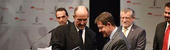 El presidente del Consejo Académico y Científico de la Isabel I recibe la Medalla de Oro al Mérito Deportivo de Castilla-La Mancha
