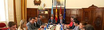 Reunión Consejo de Gobierno itinerante en Hellín (Albacete). Foto: JCCM.