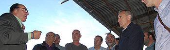 Un grupo de arroceros de Asaja Valencia visitan APAG y Coagral. Foto: ASAJA CLM.