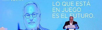 El candidato del PP a las elecciones europeas, Miguel Arias Cañete