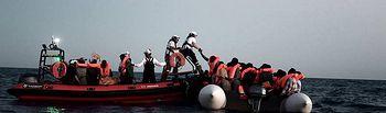 Barco Aquarius-6 - Imagen TVE
