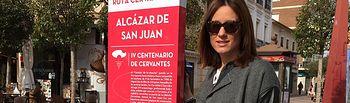 Finaliza la instalación de los monolitos informativos del IV Centenario de la Muerte de Miguel de Cervantes.