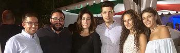 El presidente provincial de NNGG de Toledo y el vicesecretario de Educación Cultura y Deportes, acompañaron al PP y a NNGG de Illescas en las fiestas en honor a la Virgen de la Caridad