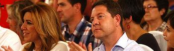 Emiliano  García-Page junto a Susana Díaz