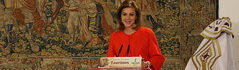 Presidenta Cospedal preside la I Edición de los Premios Taurinos. Foto: JCCM.