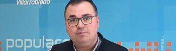 Bernardo Ortega portavoz municipal del Grupo Popular en el Ayuntamiento de Villarrobledo