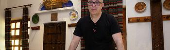 José Luis López, encargado de cocina del restaurante Nuestro Bar