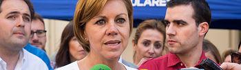 María Dolores Cospedal, presidenta del PP de Castilla-La Mancha.