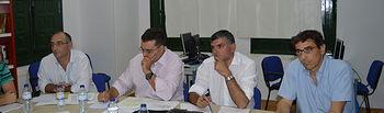  El viceconsejero de Medio Ambiente ha mantenido hoy una reunión con los alcaldes de los municipios afectados. Foto: JCCM.