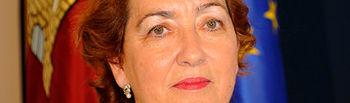 María Luisa Soriano. Consejera de Agricultura.