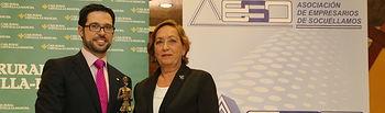 Maria Luisa Soriano preside entrega Premios AESO (1). Foto: JCCM.