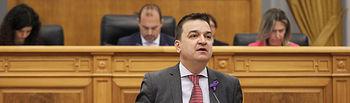 Pleno en las Cortes de CLM. Foto: CARMEN TOLDOS