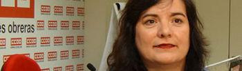 Chelo Cuadra, Secretaria General de la Federación de Sanidad y Servicios sociosa