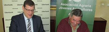 Firma convenio de colaboración Liberbank-ASAJA Albacete