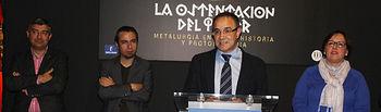 Exposición 'La ostentación del poder.'La ostentación del poder. Metalurgia en la Prehistoria y Protohistoria' en Toledo. Foto: JCCM.