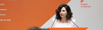 Orlena De Miguel portavoz de Cs CLM.