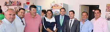 Cargos del Partido Popular acompañaron la presentación de Alborea en el stand de la Diputación Provincial.