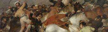 El dos de mayo de 1808. La carga de los mamelucos - Goya
