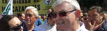 Juan de Dios García, presidente de la Federación de Caza de Castilla-La Mancha