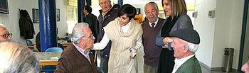 Isabel Rodríguez, visita el Centro de Mayores Toledo II