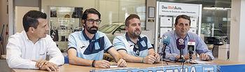 Presentación del IV Trofeo de Fútbol 7 Academia Albiceleste