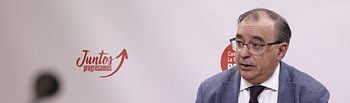 Fernando Mora, presidente del Grupo Parlamentario Socialista. Foto: CARMEN TOLDOS