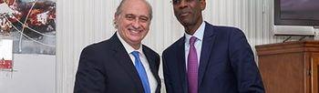 El ministro del Interior se reúne con su homólogo de Senegal (Foto: EFE)