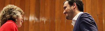 Alberto Garzón, toma posesión de la cartera del Ministerio de Consumo.