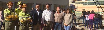 La Junta desarrolla un programa formativo y de sensibilización en Lezuza sobre la problemática de los incendios forestales.