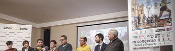 Presentación del Campeonato Regional de Cross en el colegio Niña María (Adoratrices)