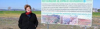 Amparo Crespo, concejala de Medio Ambiente y Agricultura en el Ayuntamiento de Valdepeñas.