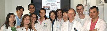 Los médicos residentes en el Servicio de Oftalmología del Hospital G. La Mancha Centro