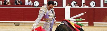 Manuel Jesús, El Cid, uno de los toreros que hará el paseillo en la Plaza de Toros de Albacete esta Feria.