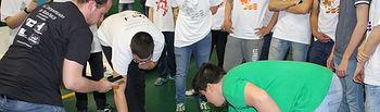 La competición reunió a estudiantes de 14 equipos.