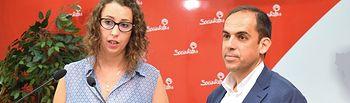 Sara Simón y Daniel Jiménez.