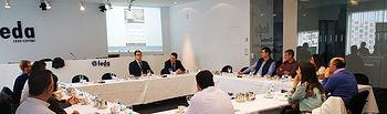 Exportadores intercambiaron experiencias sobre los mercados chileno y colombiano en el primer desayuno networking de ADIEX